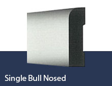 Single Bullnose skirting board profile