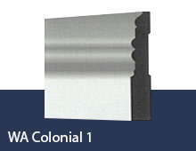 WA Colonial 1 skirting board profile