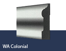 WA Colonial skirting board profile