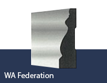 WA Federation skirting board profile